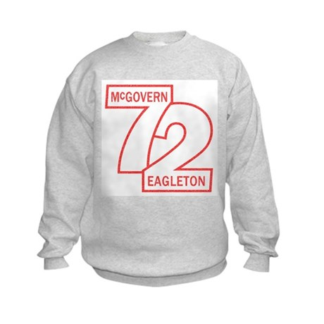 McGovern in '72 Kids Sweatshirt