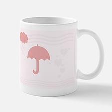 Pink Romantic Hearts Mug