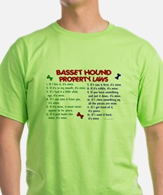 Basset Hound Property Laws 2 T-Shirt
