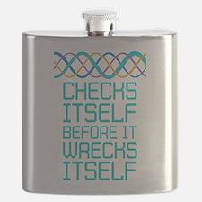 DNA Checks Itself Flask