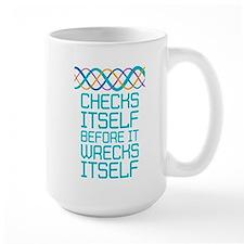 DNA Checks Itself Mugs