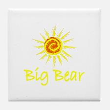 Big Bear, California Tile Coaster