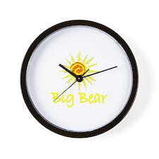Big Bear, California Wall Clock