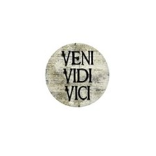 Veni Vidi Vici Mini Button