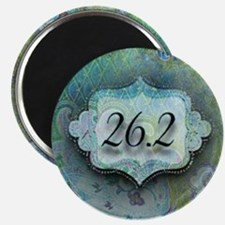 26.2, Marathon by Vetro Jewelry & Designs Magnet