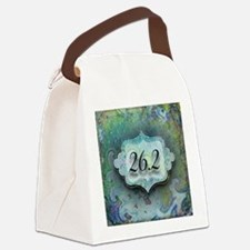 26.2, Marathon by Vetro Jewelry & Canvas Lunch Bag
