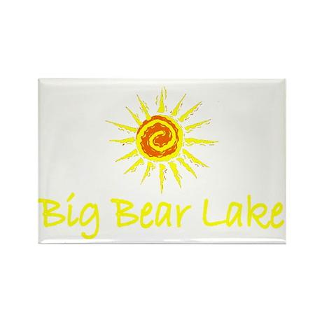 Big Bear Lake, California Rectangle Magnet (100 pa