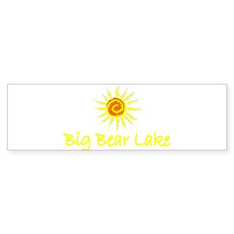 Big Bear Lake, California Bumper Sticker