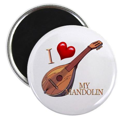 I Love My MANDOLIN Magnet