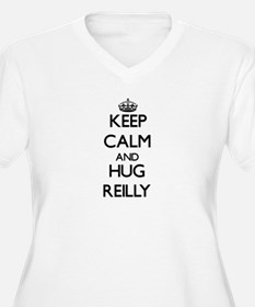 Keep calm and Hug Reilly Plus Size T-Shirt