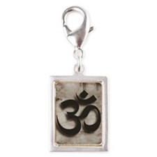 Om, Yoga by Vetro Jewelry &  Silver Portrait Charm