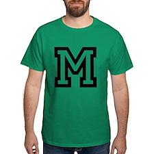 Personalized Monogram M T-Shirt