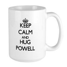 Keep calm and Hug Powell Mugs