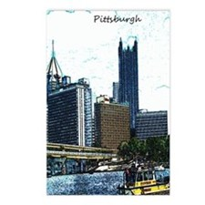 Pittsburgh Sketch Postcards (Package of 8)