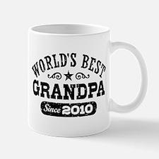 World's Best Grandpa Since 2010 Mug