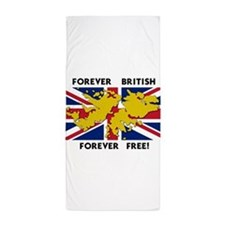 forever.png Beach Towel