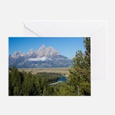 Snake River Overlook Greeting Card