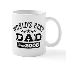 World's Best Dad Since 2008 Mug