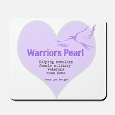 Warriors Pearl Mousepad