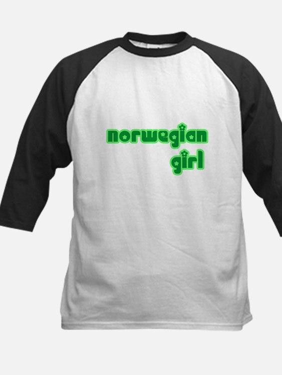 3-norwayw Baseball Jersey