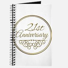 21st Anniversary Journal