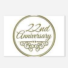 22nd Anniversary Postcards (Package of 8)