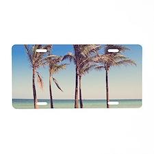 Paradise Aluminum License Plate