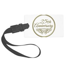 25th Anniversary Luggage Tag
