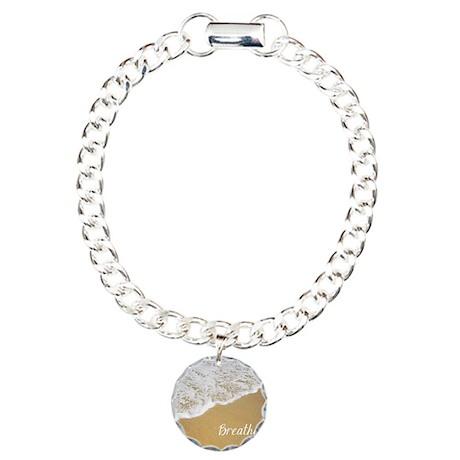 Just Breathe... Charm Bracelet, One Charm