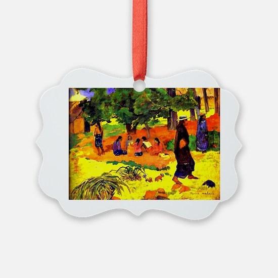 Gauguin - Taperaa Mahana, Paul Ga Ornament
