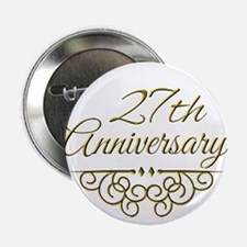 "27th Anniversary 2.25"" Button (10 pack)"