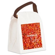 Dream in Color Canvas Lunch Bag