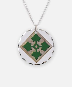 Fourth Infantry Div. Necklace