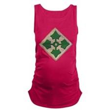 Fourth Infantry Div. Maternity Tank Top