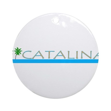 Catalina Island, California Ornament (Round)