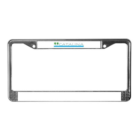 Catalina Island, California License Plate Frame
