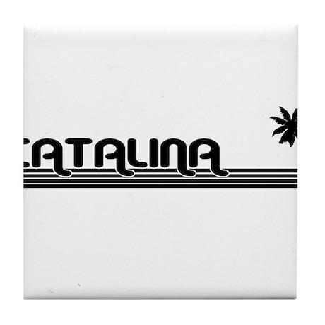 Catalina Island, California Tile Coaster