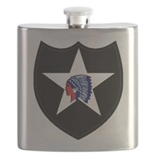 2nd Infantry Division Flask