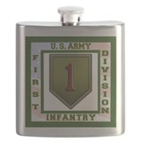 Big red one Flask Bottles
