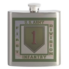 Big Red One Flask