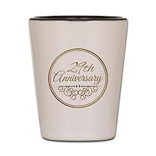 29th Anniversary Shot Glass