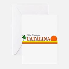 Visit Beautiful Catalina Isla Greeting Cards (Pack