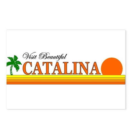 Visit Beautiful Catalina Isla Postcards (Package o