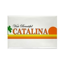 Visit Beautiful Catalina Isla Rectangle Magnet (10