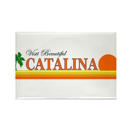 Visit Beautiful Catalina Isla Rectangle Magnet (10