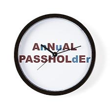 Passhole Wall Clock