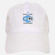 Whats The Wifi Password? Baseball Baseball Cap