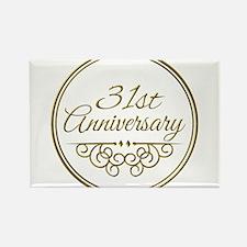 31st Anniversary Magnets