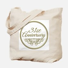 31st Anniversary Tote Bag