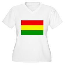 APPAREL-BOLIVIA Plus Size T-Shirt